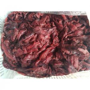 China 2021 hot sale BQF 20kg 15kg Frozen Seafood Yellowfin Tuna Black Waste Meat For Restaurant wholesale
