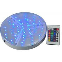 Battery Operated Led Light Bases For Vases / Wedding Table , IP54 Led Bulb Bases Manufactures
