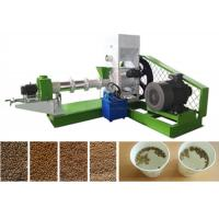 China 2t Floating Fish Feed Production Line For Floating Fish Feed Pellet Factory wholesale