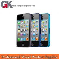 China aircraft grade aluminum for iphone 4 bumper case wholesale