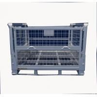 China Full Welding IBC Metal Cage Heavy Duty Cage 120 Mm Feet Height ISO90001 wholesale