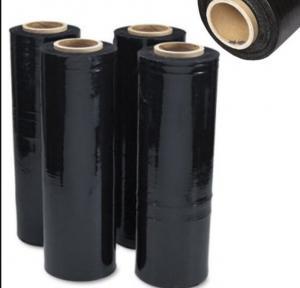 China Black Hand LLDPE Pallet Shrink Wrap PE Stretch Film 40 Micron wholesale