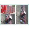 China High Efficiency Building Site Hoist , Construction Elevator 2000kg Capacity wholesale