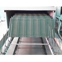 China Water Proof Stone Coated Roof Tile Machine / Equipment With Pressing System on sale