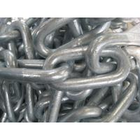 China DIN763 galvanized long link chain wholesale