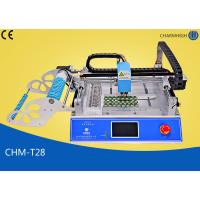 China CHMT28 Desktop Led Smd Small Smt Pick And Place Machine With CE Prototyping wholesale
