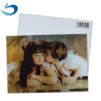 China Fashion Eco - Friendly 3D Plastic Cards / Lenticular Postcard Printing wholesale