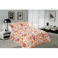 China Attractive Cover Designer Quilt Covers Soft Touch With Needle Punched Technics wholesale
