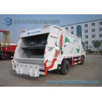 China Foton Dual Axle 4X2 Comperssed Garbage Trucks 5m3-8m3 95 Km/h wholesale