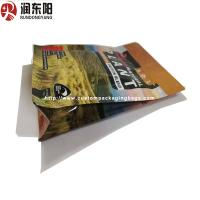 China Moisture Proof Stand Up Bag Packaging Heat Seal Bag Resealable 0.05-0.20mm Thinckness wholesale