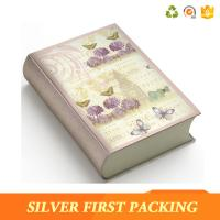 China Silver First hot sale custom decorative magnet book shape box wholesale