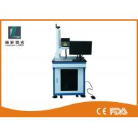 China Metal Tube Mini Laser Marking Machine , Air Cooling Plastic Engraving Machine wholesale