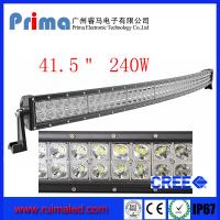 "China 41.5"" 240W Curved Led Light Bar- Double Row wholesale"