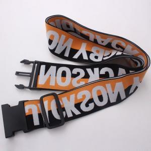 China China wholesale Travel polyester luggage strap for wholesale Luggage belt wholesale