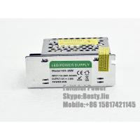 Quality 25 Watts 25W 2A Constant Voltage 12V LED Power Supply with CE ROHS Certificates for sale
