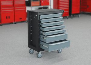 China Gray Movable SPCC Steel Rolling Tool Cabinet To Store Tools wholesale