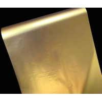 China Gold Holographic Projection Film , 100micron Coil Window Projection Film wholesale