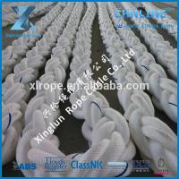 A floating high performance rope constructed from high strength polypropylene yarns