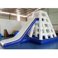 China Safety Inflatable Water Games Inflatable Jungle Rock Silk Screen Printing wholesale