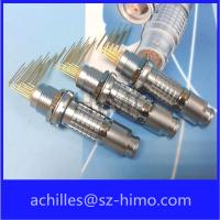 ip50 circular lemo replacement connector wit pcb contact pin Manufactures