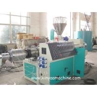 China Electric PVC Pipe Extrusion Machine With DTC Spiral feeding machine wholesale