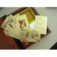China Promotional Plastic Playing Cards wholesale