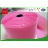 China Custom Color Wide hook and loop Hook & Loop Fastening Tape 100% Nylon Light Pink wholesale