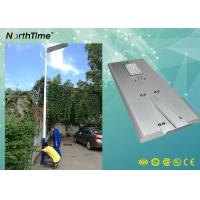 China 80Watt Smart Phone APP Control LED Smart Solar Street Light With PIR For Bus Station wholesale