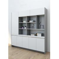 China Modern Luxury File Storage Cabinet , High Gloss Solid Wood File Cabinet wholesale