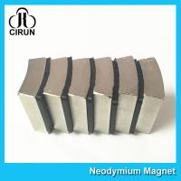 China N52 Sintered Neodymium Iron Boron Magnet Arc Shaped Custom Size And Shape wholesale