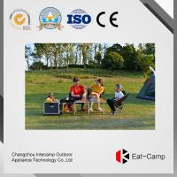 China EATCAMP Camping Outdoor Kitchen Station Of 7.4 Kg - 3 KW * 2 - 40 L With Windproof  Stoves For Glamping wholesale