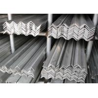 China 5mm , 10mm , 20mm Stainless Steel Angle Iron AISI 304 , 304L For Construction wholesale