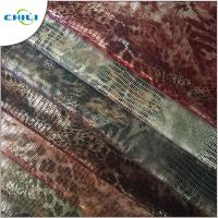 China Embossed Soft Leather Material , Pvc Leatherette Fabric Eco Friendly Easy Cleaning wholesale