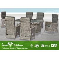 China Modern Patio Furniture Dining Sets With W64 X D67 X H105 Rectangular Table Multiple Color wholesale