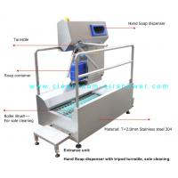 China Passage Boot Sole Washer , Sole Cleaning Machine For Entrance Unit In Food Workshop wholesale