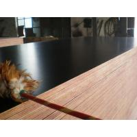 China Customized Durable Thick Black Film Faced Plywood , Water Resistant Marine Plywood Sheet 21mm wholesale
