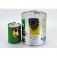 China Large food grade easy open end tinplate cans , cookies / tea storage tin wholesale
