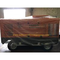 China 1 Years Warranty Portable Screw Air Compressor Mobile Air Compressor For Mining wholesale