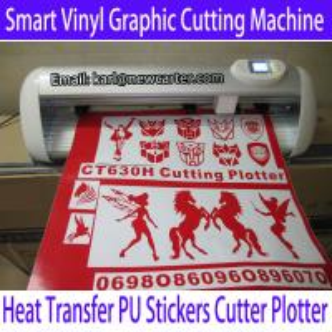 China Creation 630 Cutting Plotter CT630H Vinyl Cutter Plotter 24'' Contour Cutting Plotter Sign wholesale