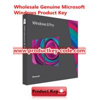 China Full Version Windows 8 Product Key Code , Genuine Windows 8 Professional Activation Key FPP Download on sale