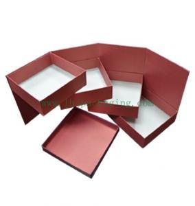 China three layer chocolate   box wholesale