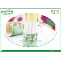 China Printed Paper Lipstick Tubes Full Color Printing Environmentally Friendly wholesale