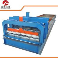 China Half Round Glazed Tile Making Machine SB 23 - 165 - 1100 For Roof Making wholesale