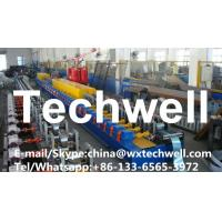 China CCr15 High Grade Steel, High Frequency Quenched HRC58-62 Roller Pu Foam Rolling Shutter Door Slat Roll Forming Machine wholesale