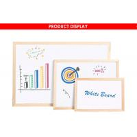 China Wood Framed Magnetic Dry Erase Board With Marker Pen Fashionable Style wholesale