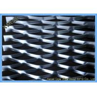 China Flattened Heavy Gauge Expanded Metal Mesh Fabric  Raised Surface 1.2x2.4 M Size wholesale