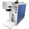China Low Energy Desktop UV Laser Marking Machine For Mechanical Part Hardware Tools wholesale