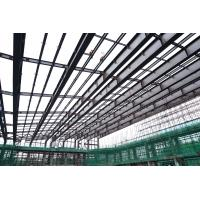 China Low Carbon Steel Building Steel Frame Fabrication For Gymnasium wholesale