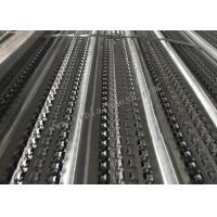 China 19mm Rib Height  3m Length Galvanized High Ribbed Formwork U Patterns For Construction wholesale