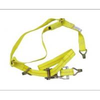 """China 2"""" truck belt with J hooks yellow color wholesale"""